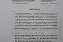 Perubahan Penyesuaian Jam Kerja Bulan Ramadhan 1441 H