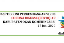 Situasi Perkembangan Covid-19 di Kab. OKU per Tanggal 17 Juni 2020