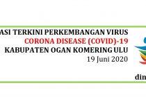 Situasi Perkembangan Covid-19 di Kab. OKU per Tanggal 19 Juni 2020