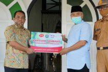 PT. Indomarco Prismatama (Indomaret) Memberikan Bantuan Paket Sembako Kepada UMKM Terdampak Covid-19