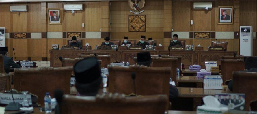 Rapat Penutupan Paripurna DPRD Kabupaten OKU Dalam Rangka Pembahasan Raperda Tentang Laporan Pertanggungjawaban Pelaksanaan APBD OKU Tahun 2019