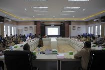 Rapat Koordinasi Kesiapsiagaan Penanggulangan Bencana Asap Kebakaran Hutan dan Lahan (Karhutla)