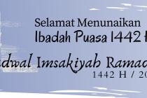 Jadwal Imsakiah Ramadhan 1442 H untuk Wilayah Kab OKU